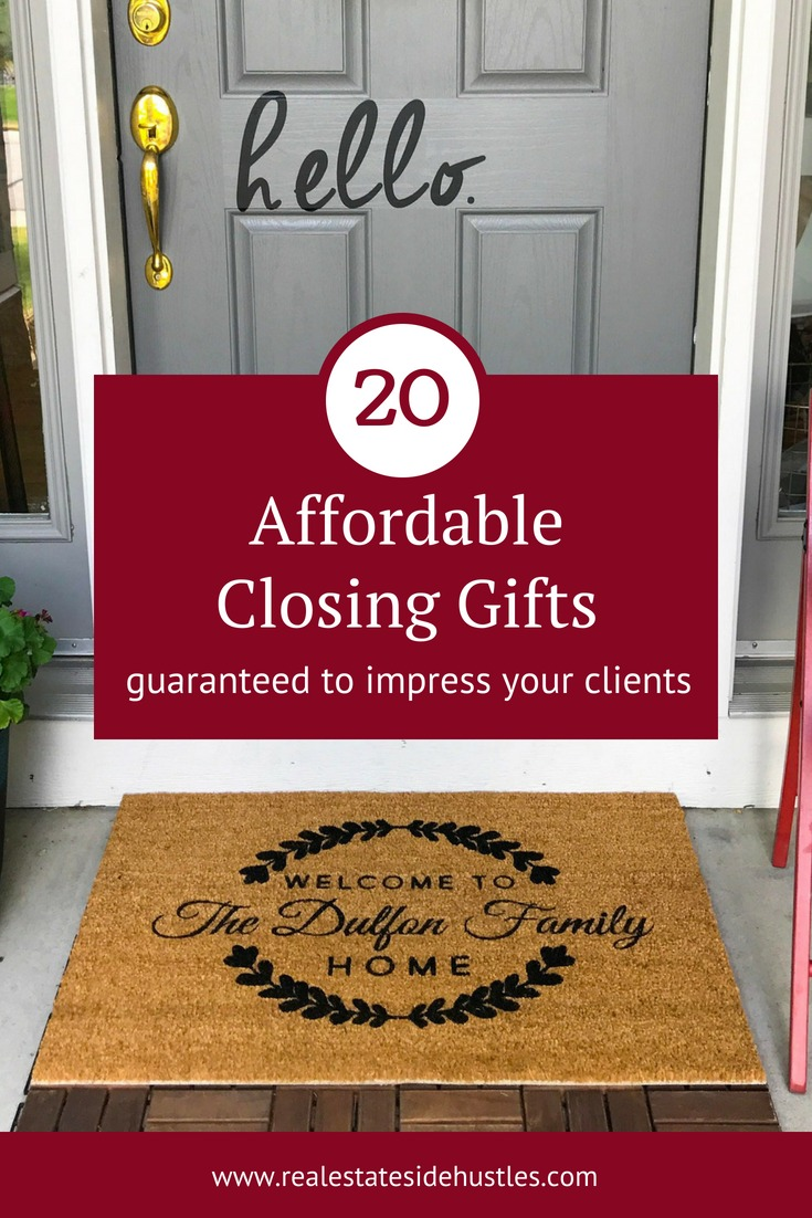20 Closing Gift Ideas Key Real Estate Resourceskey Real Estate Resources